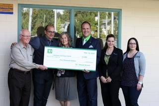 TD Bank Donation